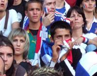 Rfi coupe du monde 2006 les supporters pleurent la d faite - Musique coupe du monde 2006 ...