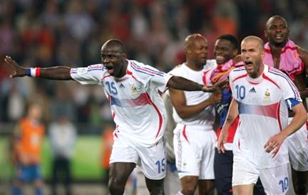 Rfi coupe du monde 2006 france portugal les bleus un match du bonheur - France portugal coupe du monde 2006 ...