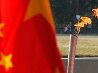 porteur flamme olympique