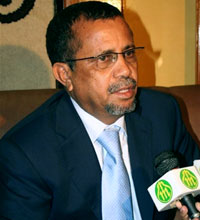 Yahya Ould Ahmed Waghf(Photo : AFP)