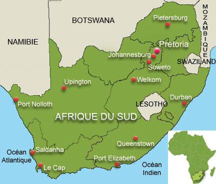 Carte De Lafrique Du Sud Avec Les Capitales.Carte Afrique Capitale Jeux
