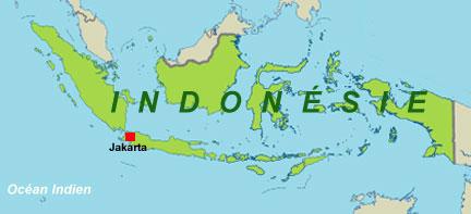 ile de java carte du monde - Image