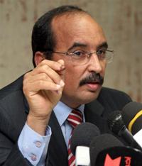 Le général mauritanien Mohamed <b>Abdel Aziz</b>, le 19 juillet 2009.(Photo : AFP - mauritanie_mohamed_abdel_aziz_200
