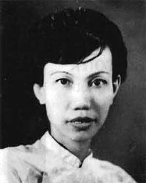 Chân dung nữ sĩ Thụy An đăng trên Atlanta Việt Báo (Nguồn : atlantavietbao.com)