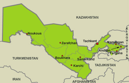 Que ramener d'ouzbékistan