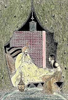 contes des mille et une nuits shéhérazade