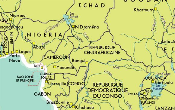 Carte Afrique Lac Tchad.Rfi Le Lac Tchad