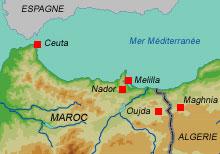 Carte Algerie Maghnia.Rfi Immigration Cette Frontiere C Est Une Vraie