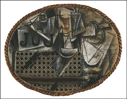 Rfi picasso cubiste une machine voir - Picasso nature morte a la chaise cannee ...