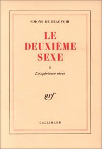 de beauvoir /le deuxieme sexe/