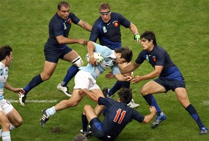 Rencontre rugby france argentine