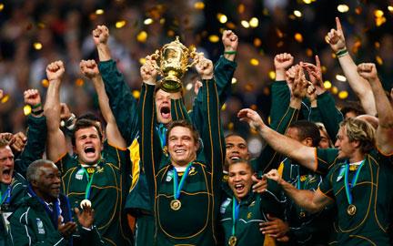 Rfi l afrique du sud championne du monde - Coupe du monde rugby afrique du sud 1994 ...