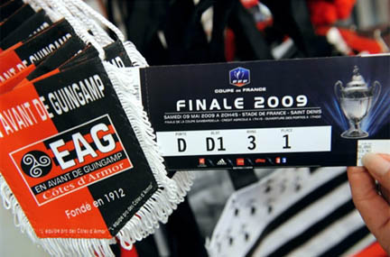 Rfi derby breton au stade de france - Billets finale coupe de france ...